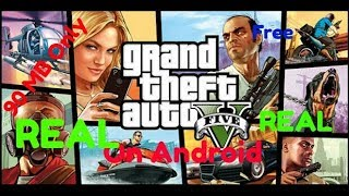 ( 90 MB Only  ) How to download and install GTA 5 (mod) on android device no real gta 5
