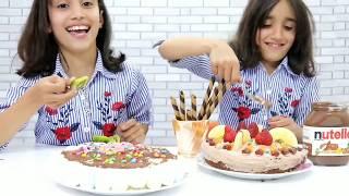 تحدي تزيين الكيك🎂مين أحلى؟ 😍| 🎂!Cake Decorating Challenge