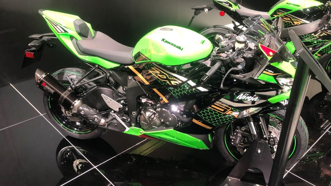 Kawasaki Ninja ZX—6R 05 636 - YouTube