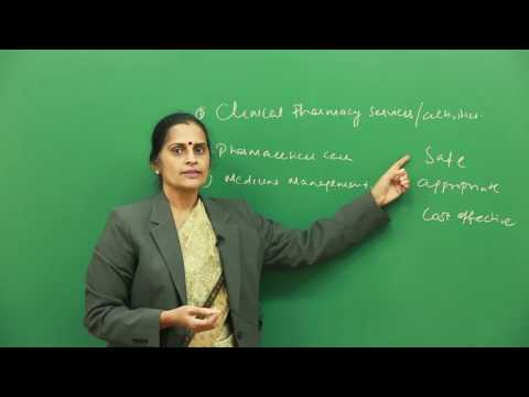 Definitions, Development and Scope of Clinical Pharmacy