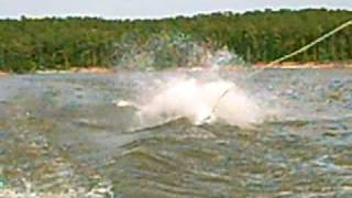 Wipeout on wakeboard!!