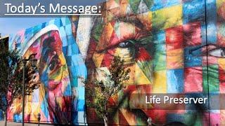 "9/26/21 Sermon ""Life Preserver"""