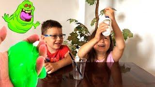 Лизун своими руками/Слайм/ Как сделать лизун в домашних условиях