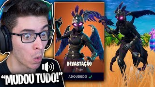 ICH KAUFTE DIE LEGENDARY SKIN OF DEVASTATION AND EVERYTHING CHANGED!! Fortnite: Battle Royale