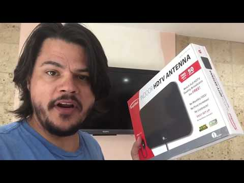1byone indoor HD Antenna Unbox - Install - Review Cord Cutter