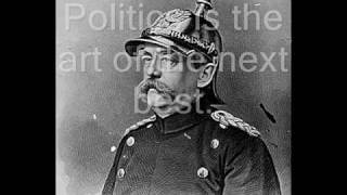 Quotes from Otto Von Bismarck
