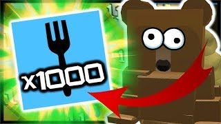 x1000 *POLAR POWER* BOOST, LVL 12 Diamond Bees! | Roblox Bee Swarm Simulator