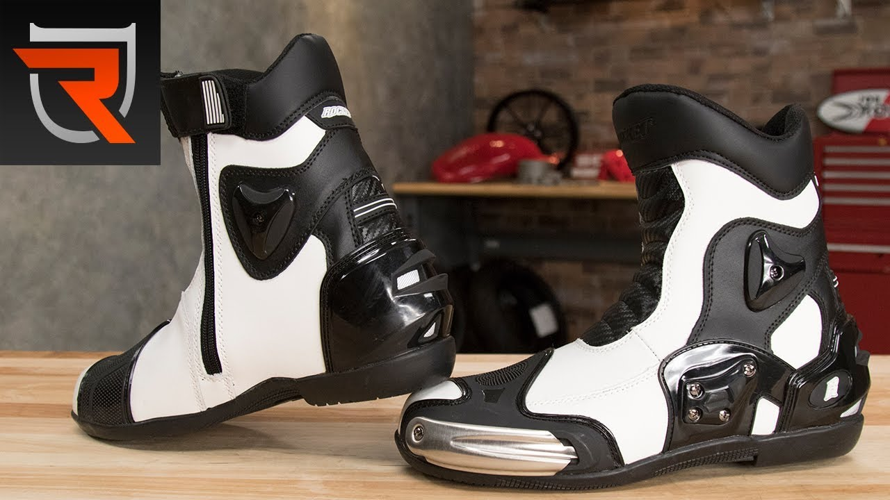 ba42ae580d2 Joe Rocket Superstreet Leather Motorcycle Boots Spotlight Review | Riders  Domain