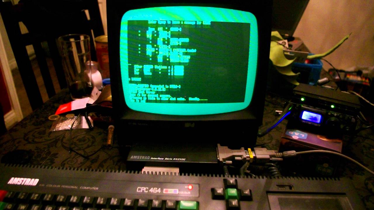 Amstrad CPC connecting to BPQ Chat and DX Cluster via Packet Radio