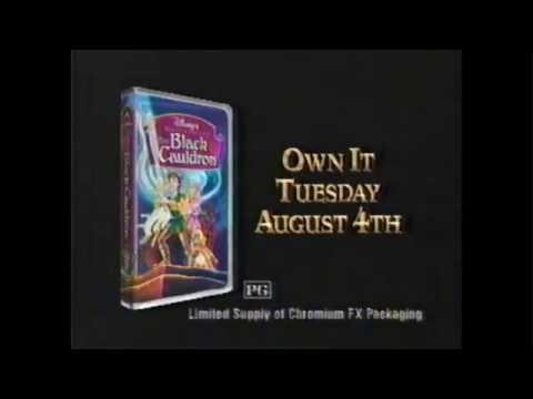 Disney's The Black Cauldron VHS Release (1998) (windowboxed)