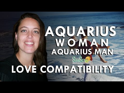 Aquarius Woman And Aquarius Man - A Match Made In Heaven