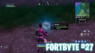 Fortnite Battle Royale ? Fortbyte Challenges How to get the Fortbyte #27