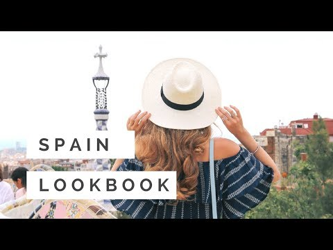 SPAIN TRAVEL DIARY + LOOKBOOK || Nataliastyle