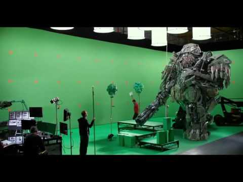 Transformers: The Last Knight - Hound Vs. Lennox 'On The Set'