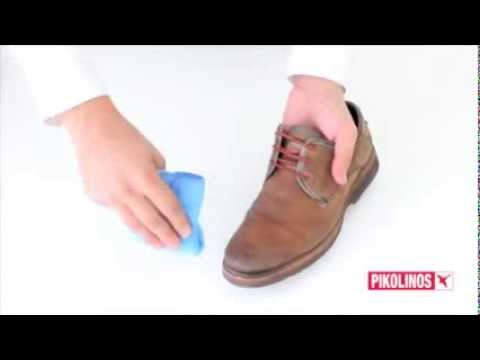 How to clean Pikolinos leather shoes and sandals