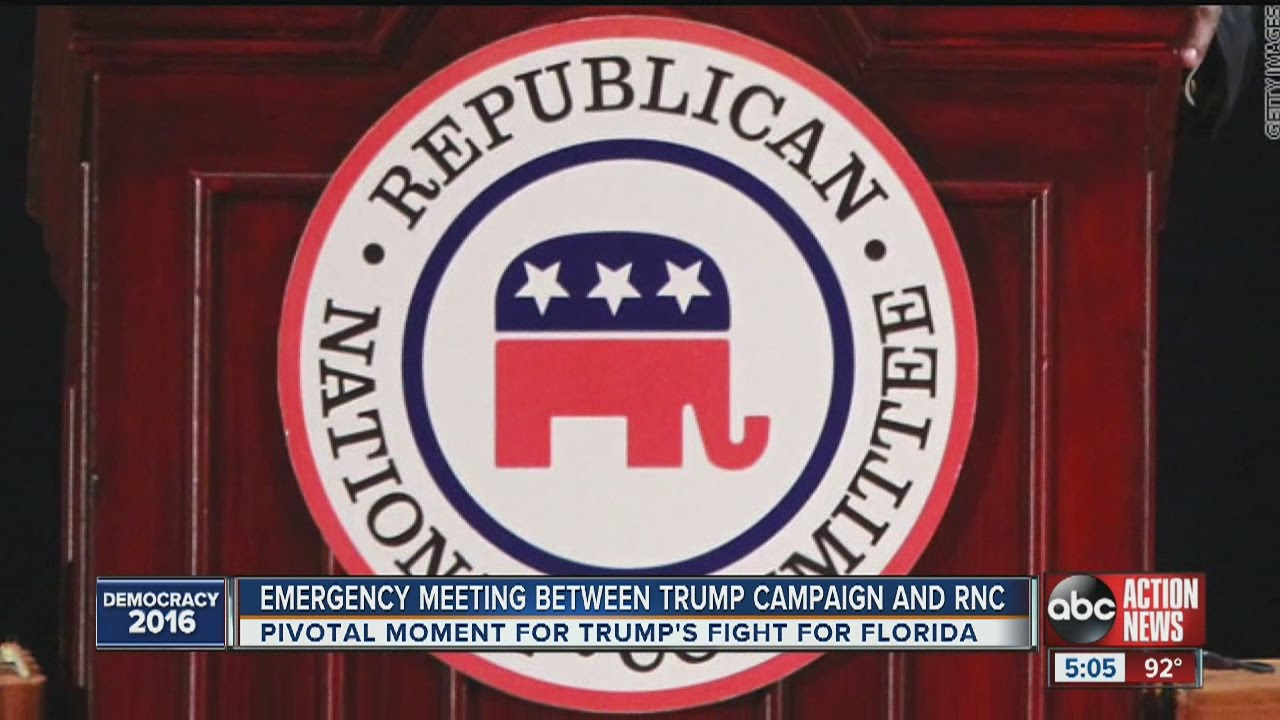 Emergency meeting called between Trump campaign and RNC ...