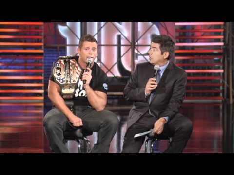 WWE Super Star Karaoke - The Miz - Twitter Q A ON LOPEZ TONIGHT