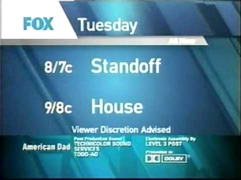 2006 PROMOS: HOUSE, FAMILY GUY, RON LIVINGSTON, SETH MACFARLANE, SIMPSONS, BONES