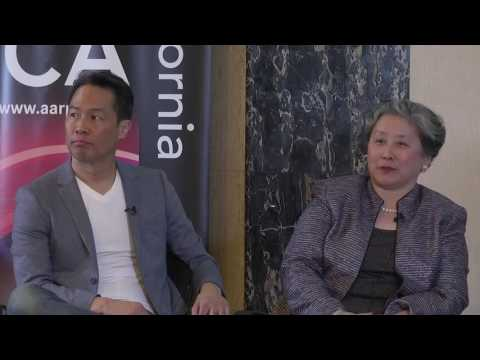 Conversation w/Richard Lui and Lily Liu at AARP's 'Caregiving' documentary world premiere