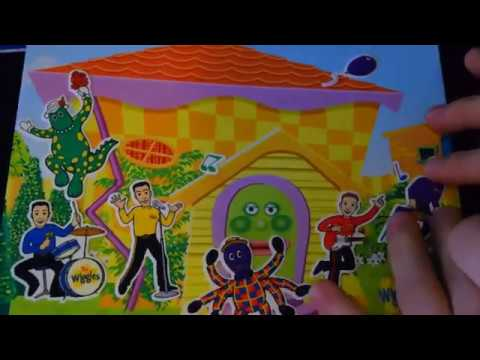 The Wiggles WiggleHouse I'm In The Wiggy Home Colorforms Toy