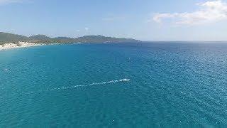 Porto Pino and Porto Botte kiting, Sardinia, Italy 2016