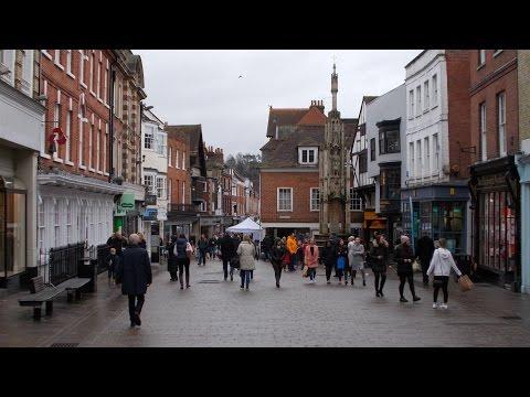 Winchester City Centre!