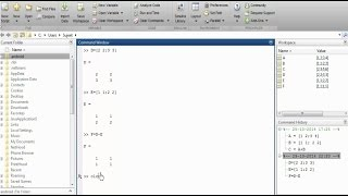 MATLAB Basics (Part 1) | Different windows in MATLAB