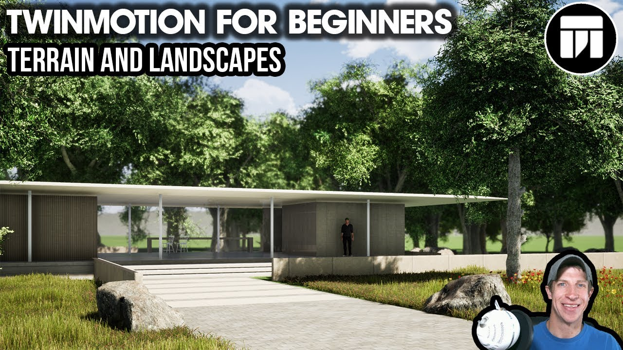 Landscaping Plants And Terrain Editing In Twinmotion Beginner