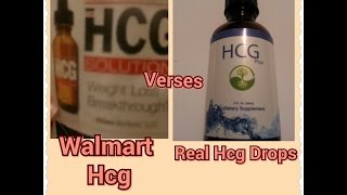 Hcg-vs-hhcg Homeopathic Vs Pure Hcg (stand Up Shot)