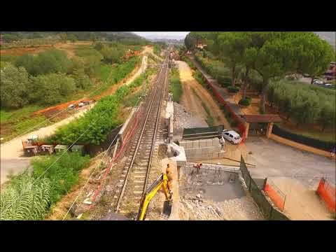 CEMES Spa - Raddoppio ferroviario Pistoia - Montecatini Terme