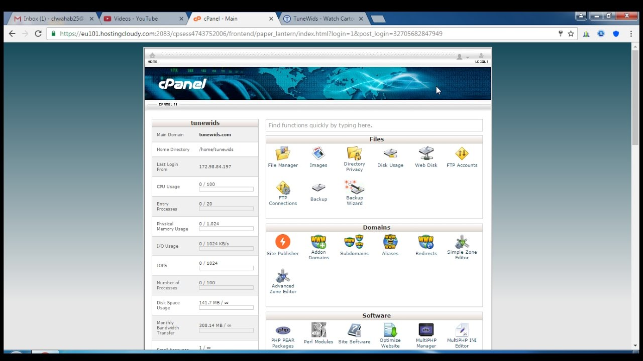 How to install theme manually from cpanel in wordpress for How to install wordpress template in cpanel