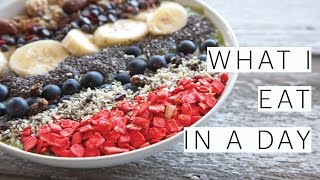 What I Eat in a Day  3 Cheap Easy Vegan Recipes  Fried Rice  Smoothie Bowl  Ep 8  The Edgy Veg