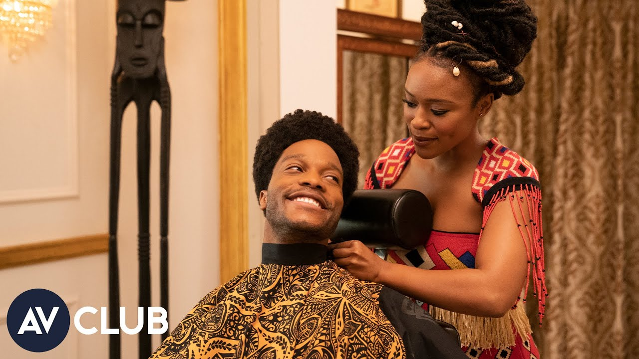 Jermaine Fowler And Nomzamo Mbatha Say Coming 2 America Is A Black Fairy Tale Youtube