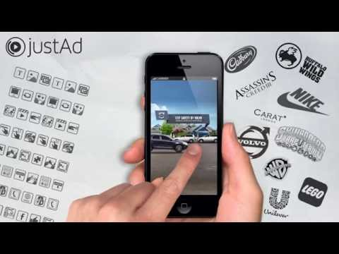 Rich Media Mobile Ad Examples from justAd - YouTube
