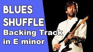 Blues Shuffle Backing track in Em
