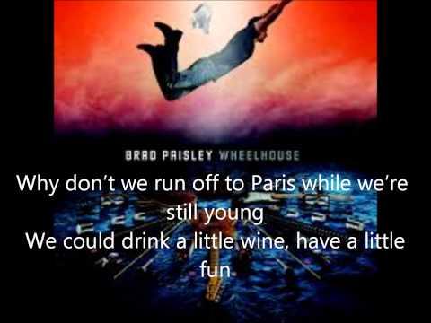 Brad Paisley- Mona Lisa