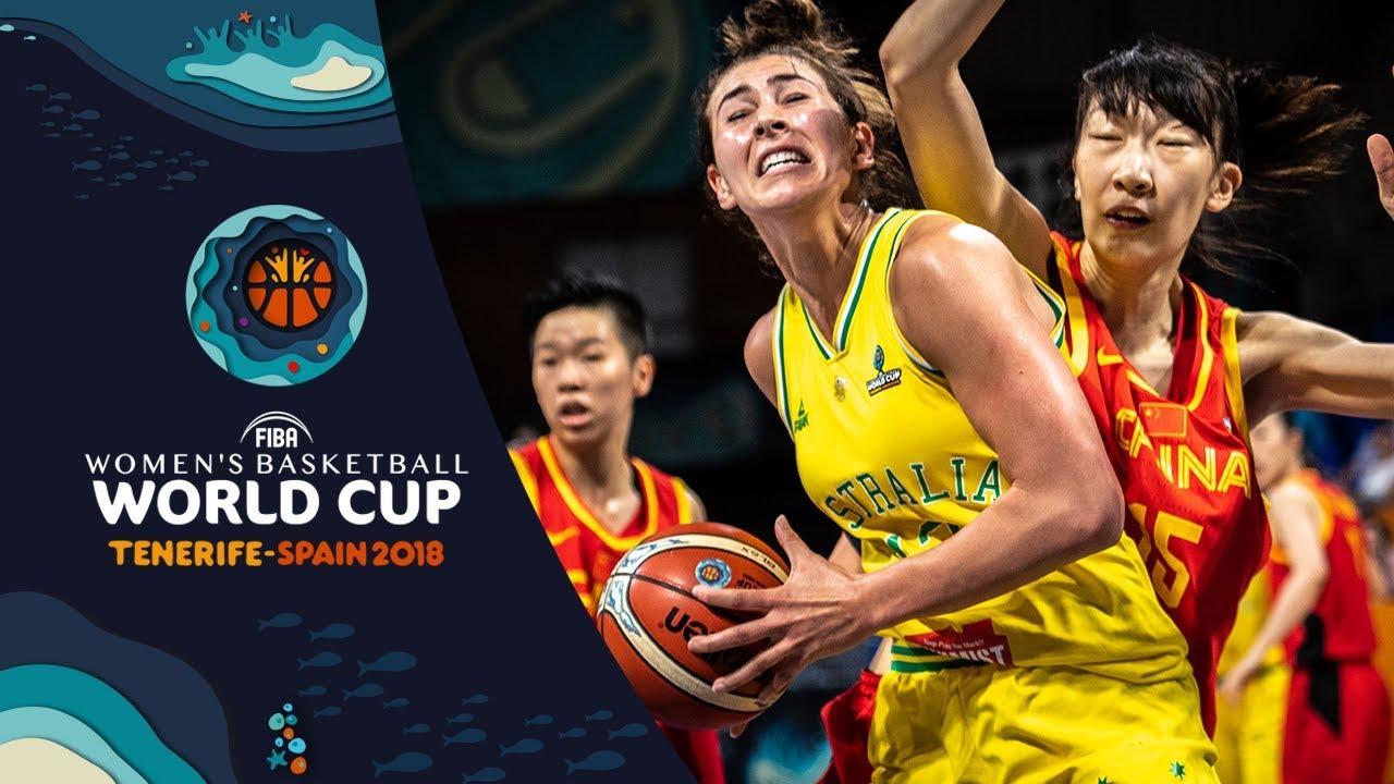 Australia v China - Highlights - FIBA Women's Basketball World Cup 2018