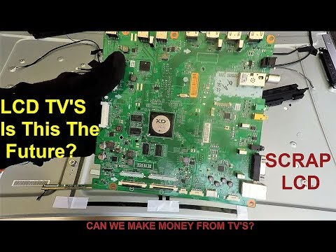 Scrap LCD TV - The Future Of Scrapping LCD TV's