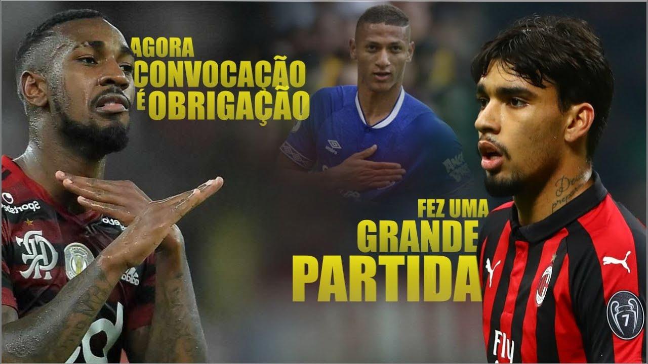 GERSON VOANDO / PAQUETA jogando muito no MILAN / POMBO se consolidando