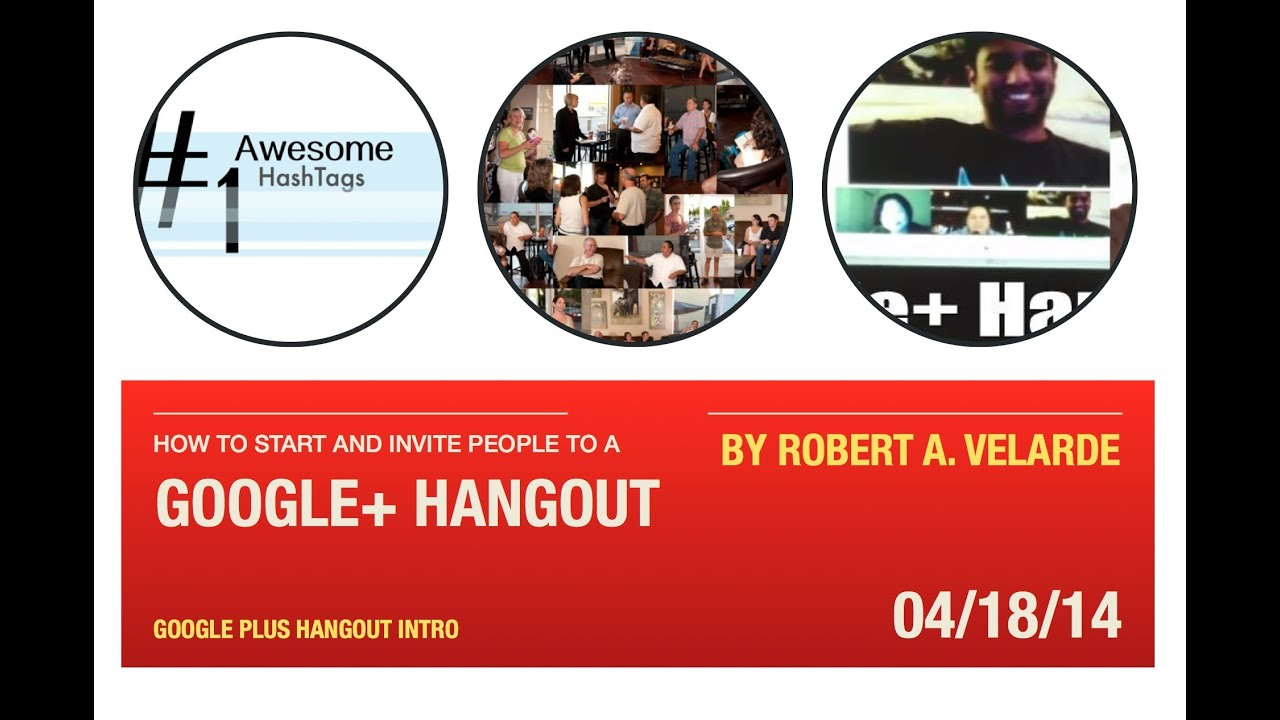 Google Hangout How To Start And Invite People To A Google Plus