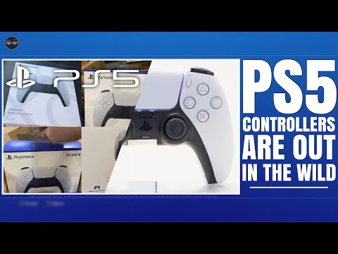 PLAYSTATION 5 ( PS5 ) - PS5 CONTROLLERS ARE OUT IN THE WILD ! GHOST OF TSUSHIMA LEGENDS IS A LO...