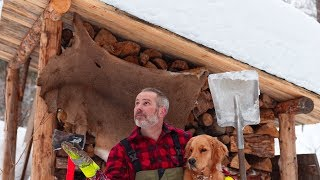 Windows for the Off Grid Sauna Cabin | Feeling the Pressure | January Thaw