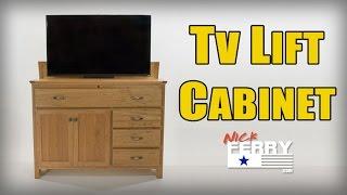 â'» Making A TV Lift Cabinet w/ Secret Compartment (ep63)