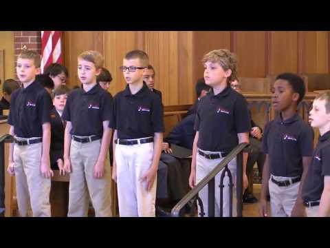 Raleigh Boychoir - Resident Choir - Peace Like A River - Ruth Elaine Schram