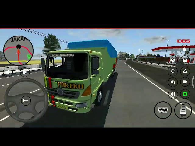 Update IDBS truck simulator Indonesia | truck hino sekar taro