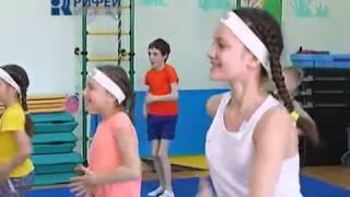 Детские веселые танцы в стиле ZUMBA.