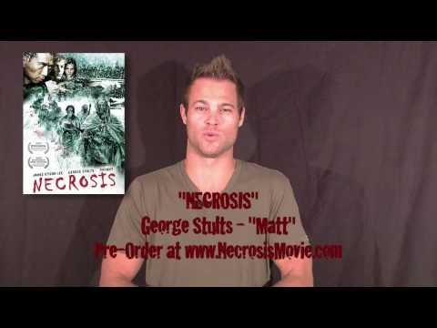 George Stults from 7th Heaven does a personal shout to goria Magazine ting NECROSIS on DVD