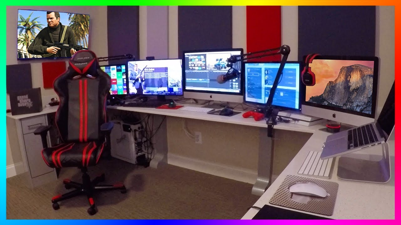 Mrbossftw New 2017 Gaming Streaming Amp Office Setup