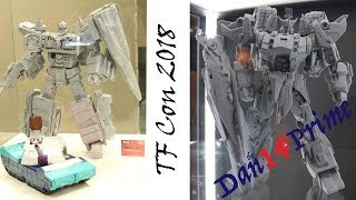 TFCon Dealer Room Cherry Picking - фанаты хобби делают игрушки Cross Dimension Planet X