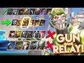 OVERWATCH GUN GAME RELAY RACE NEW CUSTOM GAMEMODE!?